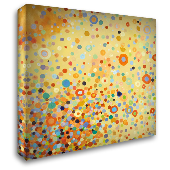 Diversity 28x28 Gallery Wrapped Stretched Canvas Art by Li-Leger, Don