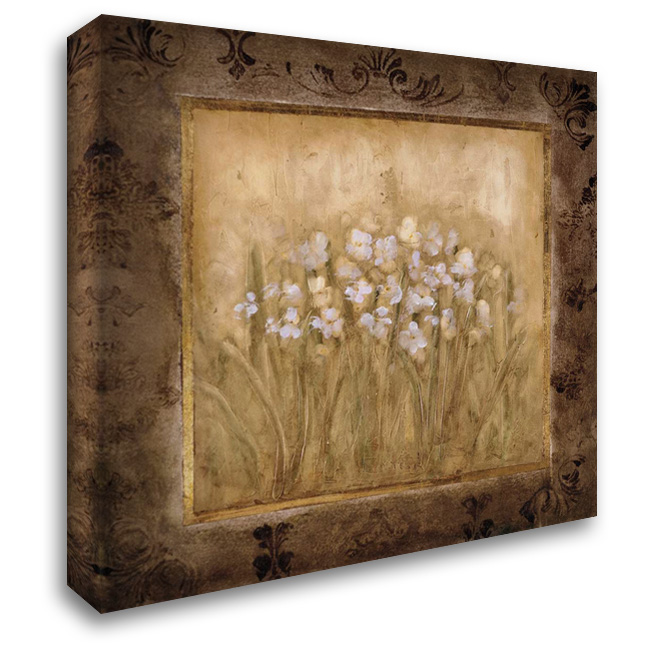 Narcissus 28x28 Gallery Wrapped Stretched Canvas Art by Mindeli
