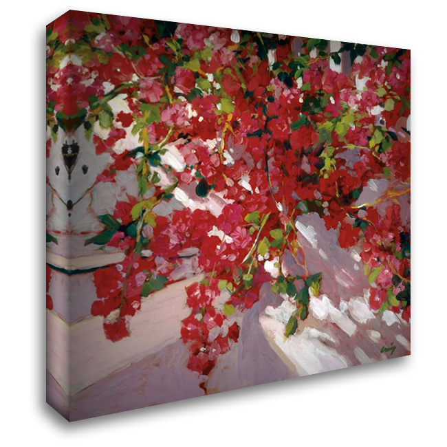 Hanging Flowers 28x28 Gallery Wrapped Stretched Canvas Art by Craig, Philip