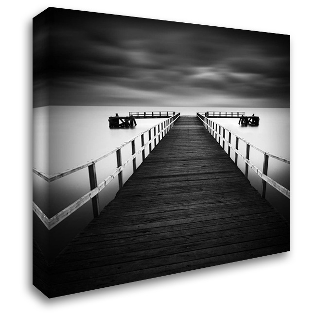 Hamworthy 28x28 Gallery Wrapped Stretched Canvas Art by Cherry, Rob