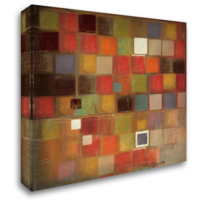 Diversified 28x28 Gallery Wrapped Stretched Canvas Art by PI Studio