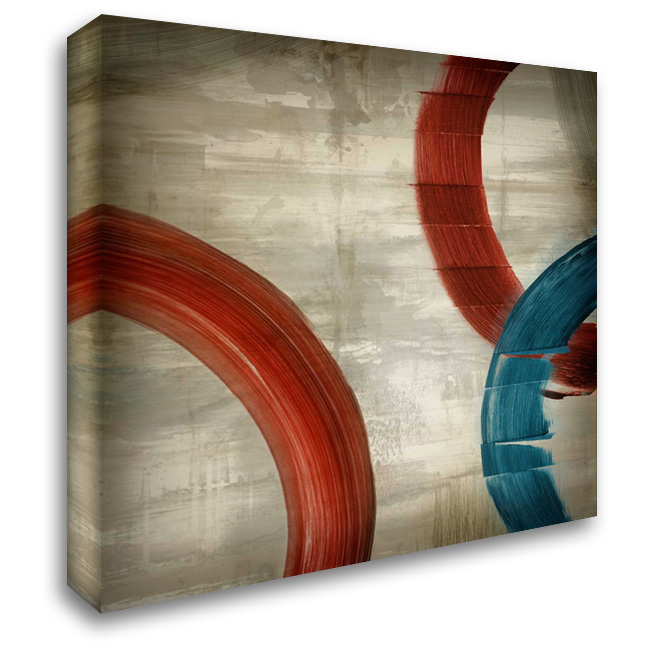 Halcyon 28x28 Gallery Wrapped Stretched Canvas Art by PI Studio