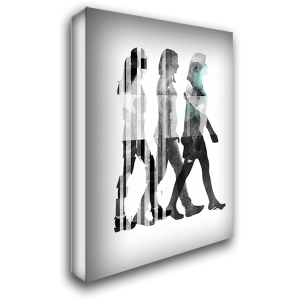 Half a World I 28x36 Gallery Wrapped Stretched Canvas Art by PI Galerie
