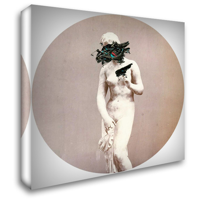 Disassociation I 28x28 Gallery Wrapped Stretched Canvas Art by PI Studio
