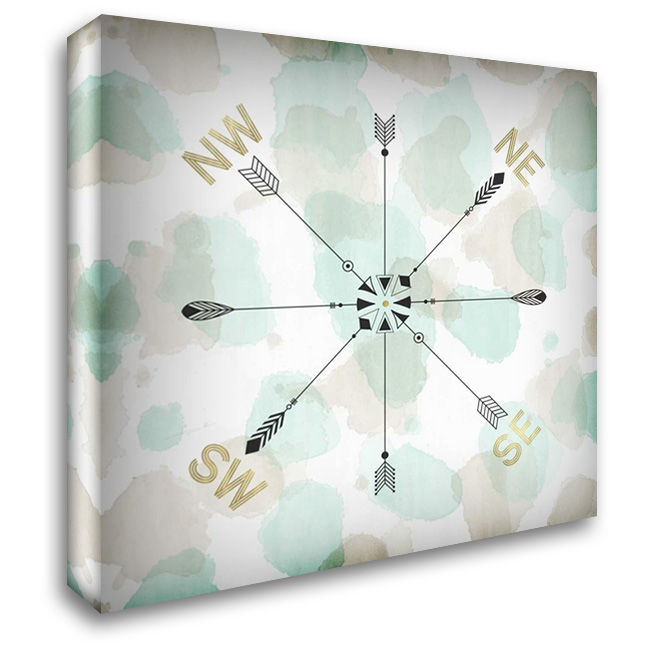 Directions I 28x28 Gallery Wrapped Stretched Canvas Art by Selkirk, Edward