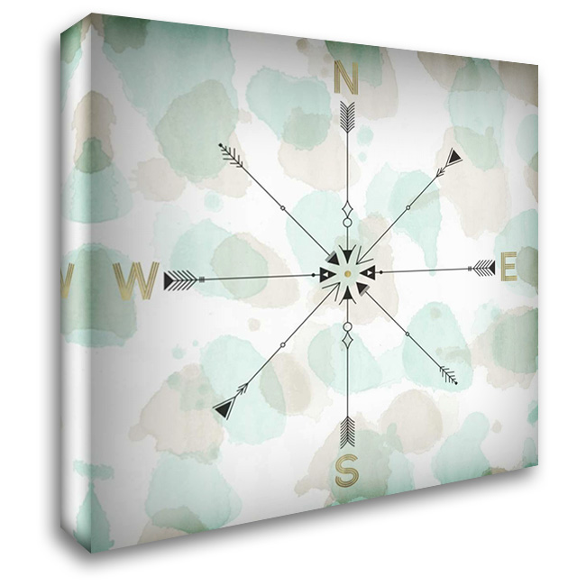 Directions II 28x28 Gallery Wrapped Stretched Canvas Art by Selkirk, Edward