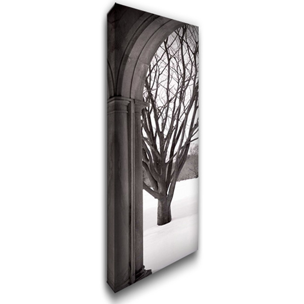 Hampton Winter Arch 16x40 Gallery Wrapped Stretched Canvas Art by Blaustein, Alan