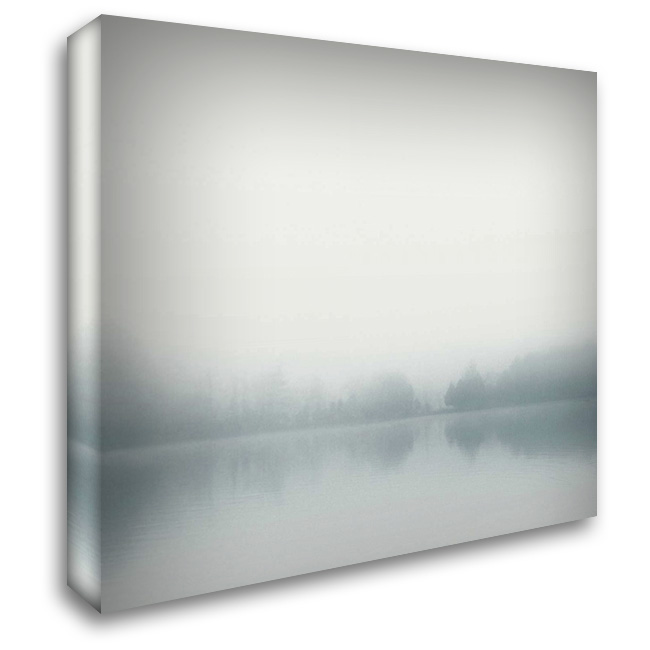 Distant Shore 28x28 Gallery Wrapped Stretched Canvas Art by Bell, Nicholas