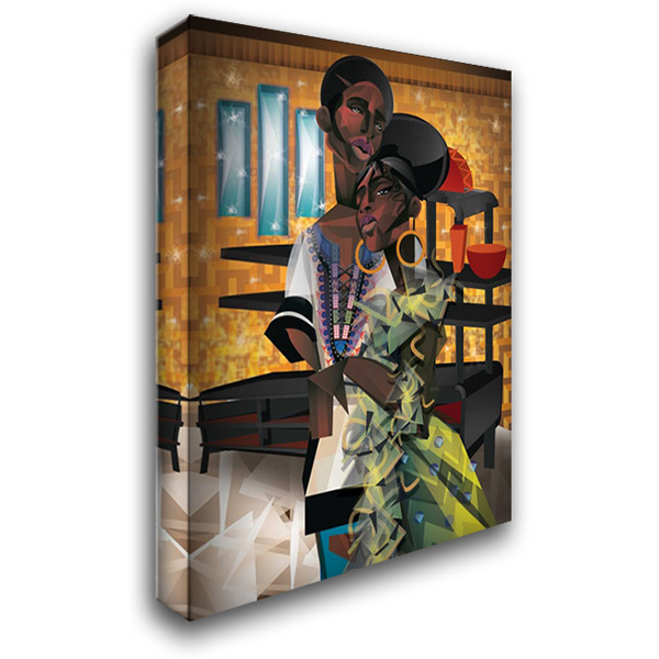 Do You Love What You Feel? 28x36 Gallery Wrapped Stretched Canvas Art by Campbell, Jaleel