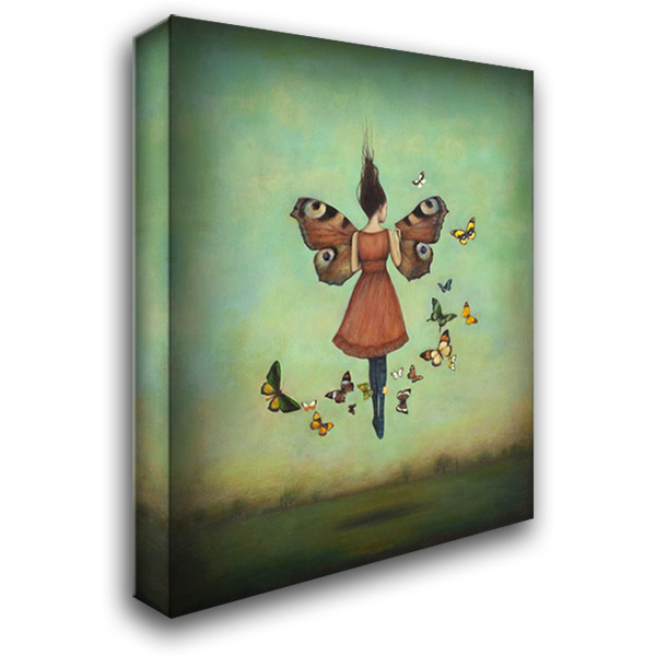 Imago Sky 28x36 Gallery Wrapped Stretched Canvas Art by Huynh, Duy