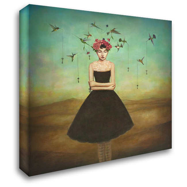 Fair Trade Frame of Mind 28x28 Gallery Wrapped Stretched Canvas Art by Huynh, Duy