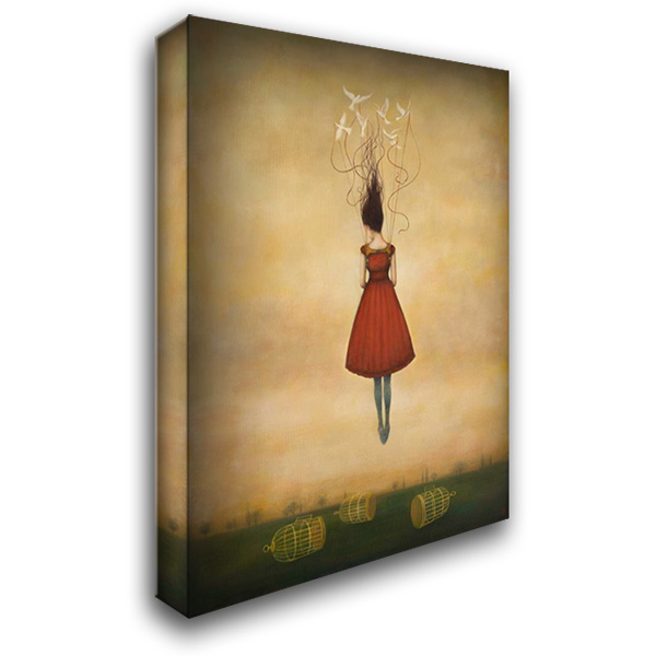 Suspension of Disbelief 28x36 Gallery Wrapped Stretched Canvas Art by Huynh, Duy