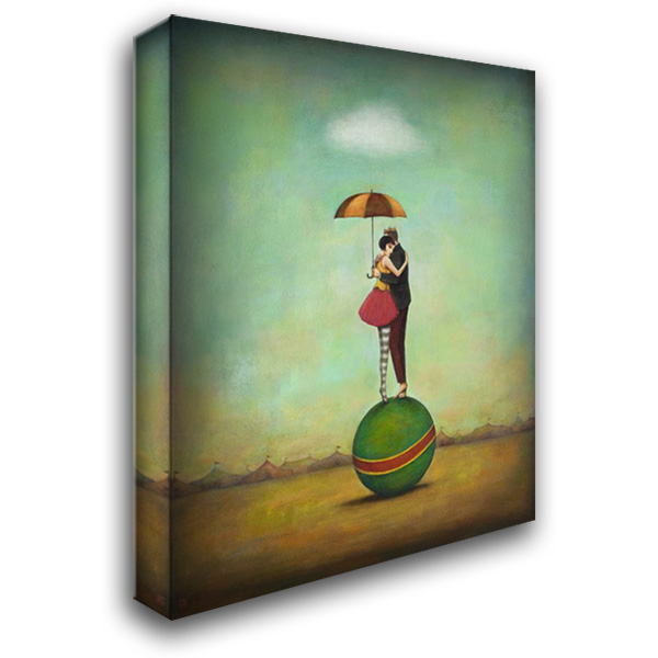 Circus Romance 28x36 Gallery Wrapped Stretched Canvas Art by Huynh, Duy