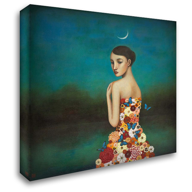 Reflective Nature 28x28 Gallery Wrapped Stretched Canvas Art by Huynh, Duy