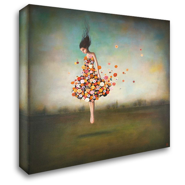 Boundlessness in Bloom 28x28 Gallery Wrapped Stretched Canvas Art by Huynh, Duy