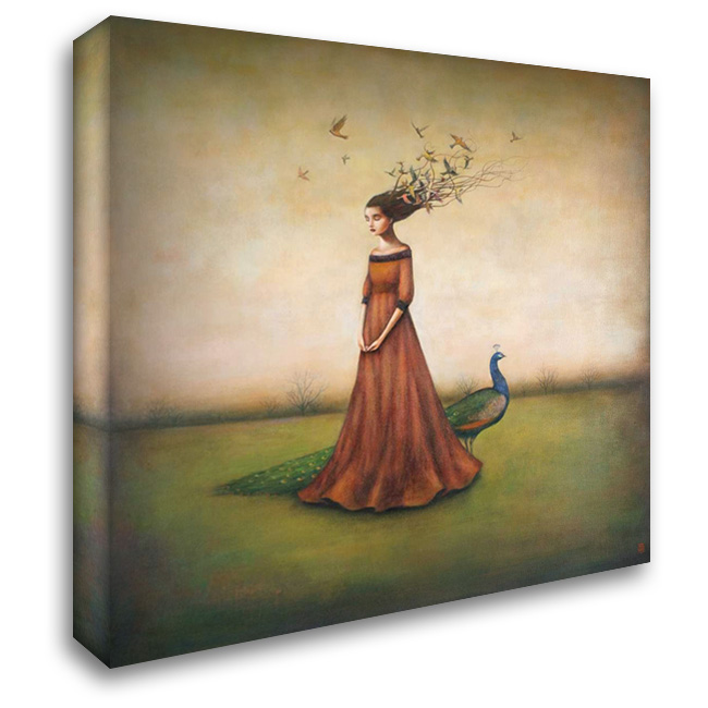 Empty Nest Invocation 28x28 Gallery Wrapped Stretched Canvas Art by Huynh, Duy