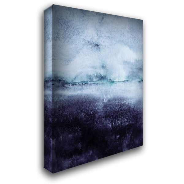 Direction North 28x36 Gallery Wrapped Stretched Canvas Art by Lehnhardt, Iris
