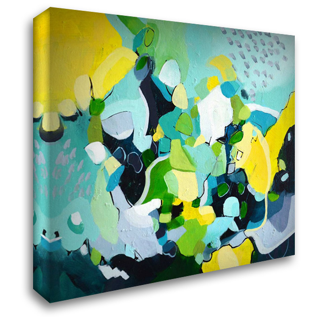 Dinner Party I 28x28 Gallery Wrapped Stretched Canvas Art by Marrison, TA