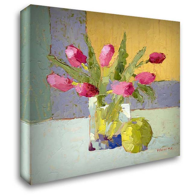 Happiness 28x28 Gallery Wrapped Stretched Canvas Art by Maguire, Carol