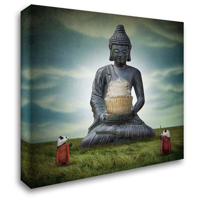 Enlightenment 28x28 Gallery Wrapped Stretched Canvas Art by Noblin, Greg
