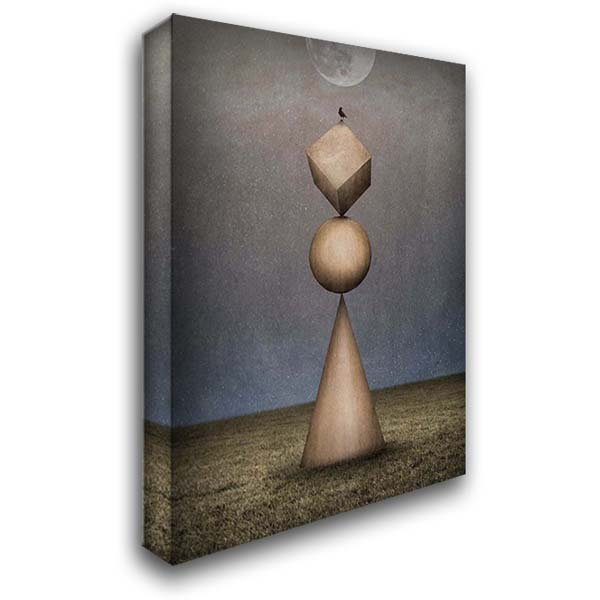 Mountain of Magic 28x36 Gallery Wrapped Stretched Canvas Art by Noblin, Greg