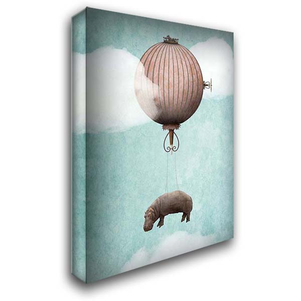 Special Delivery 28x36 Gallery Wrapped Stretched Canvas Art by Noblin, Greg