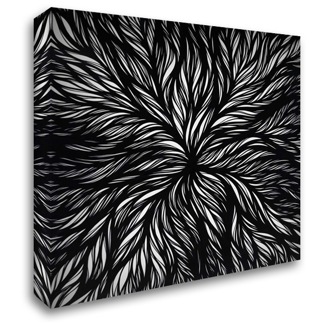 Dissolution 28x28 Gallery Wrapped Stretched Canvas Art by Phelps, Nathan Richard