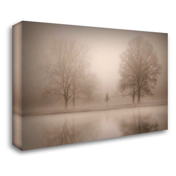 The Family 40x28 Gallery Wrapped Stretched Canvas Art by Svibilsky, Igor