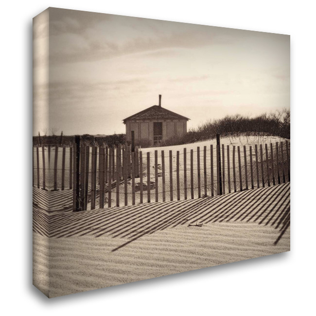 Dune Shack 28x28 Gallery Wrapped Stretched Canvas Art by Triebert, Christine