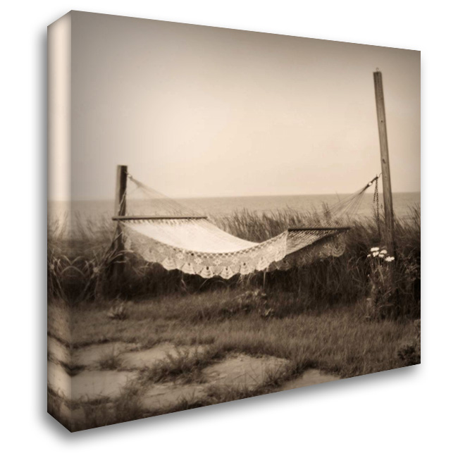 Hammock 28x28 Gallery Wrapped Stretched Canvas Art by Triebert, Christine