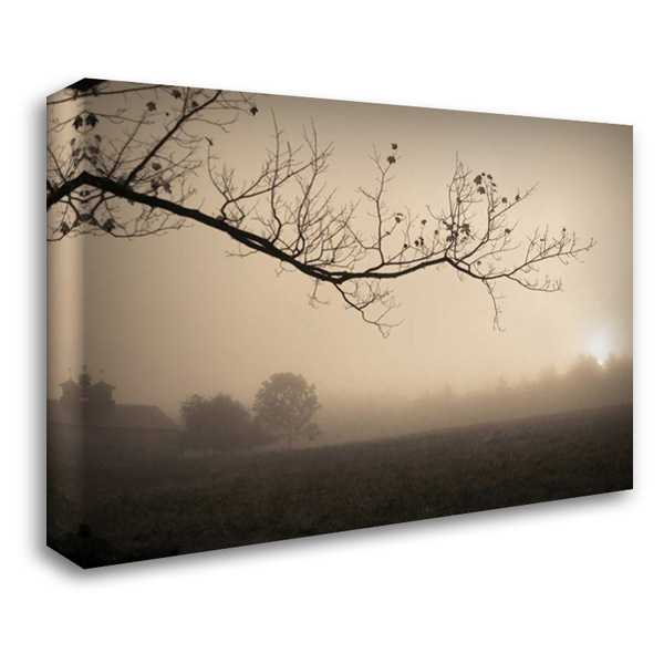Parish Hill Sunrise 37x28 Gallery Wrapped Stretched Canvas Art by Triebert, Christine