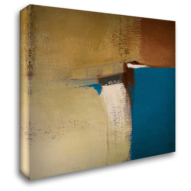 Discovery Square II 28x28 Gallery Wrapped Stretched Canvas Art by Loreth, Lanie