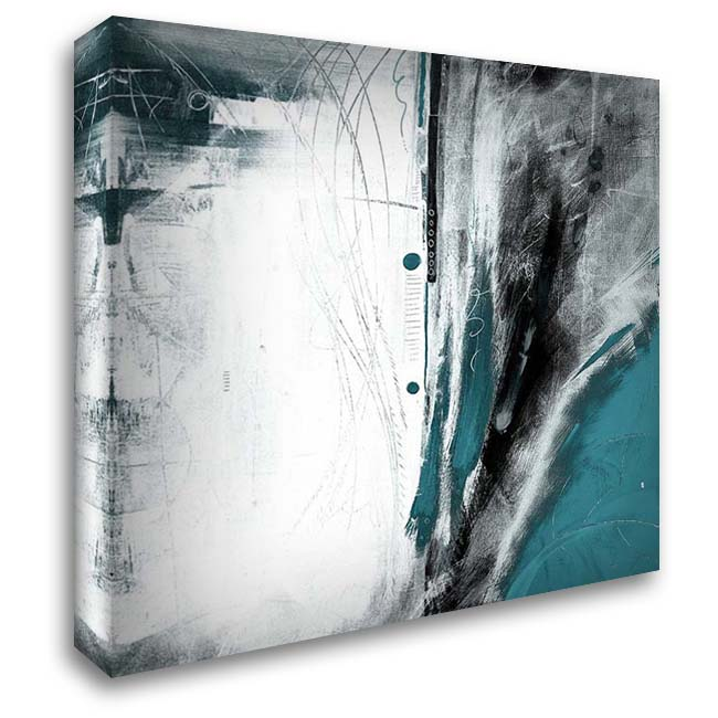 Hailstorm 28x28 Gallery Wrapped Stretched Canvas Art by Meneely, Dan