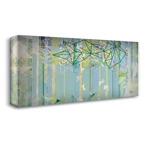 Hanging Around III 40x22 Gallery Wrapped Stretched Canvas Art by Ferguson, Kathy
