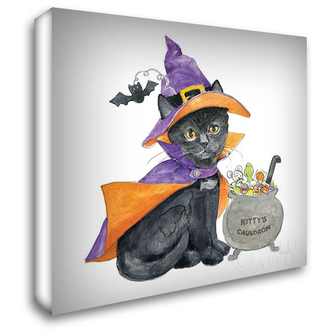 Halloween Pets I 28x28 Gallery Wrapped Stretched Canvas Art by Grove, Beth