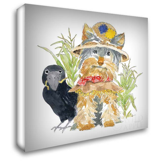 Halloween Pets IV 28x28 Gallery Wrapped Stretched Canvas Art by Grove, Beth