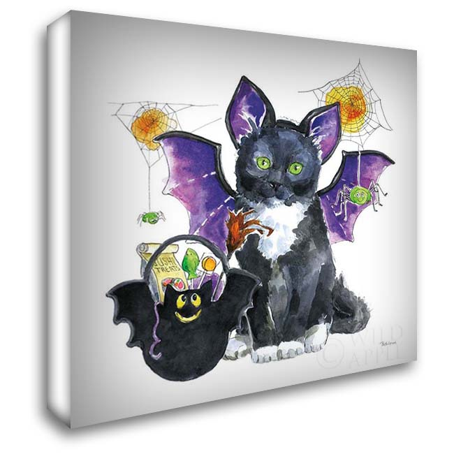 Halloween Pets VI 28x28 Gallery Wrapped Stretched Canvas Art by Grove, Beth