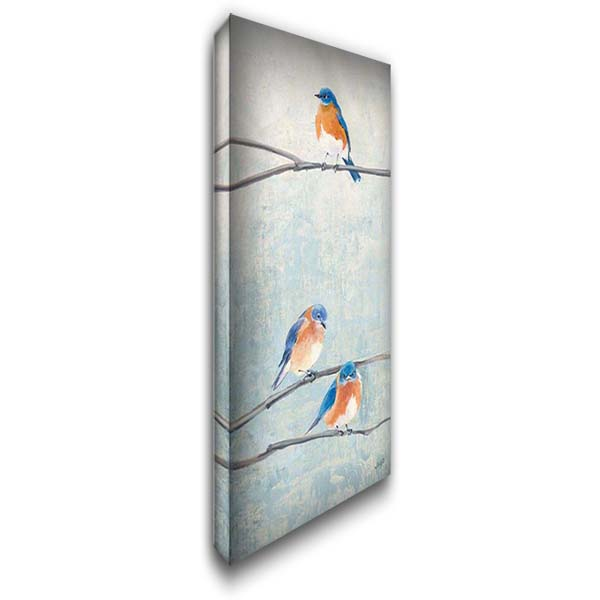 Hanging Out II 22x40 Gallery Wrapped Stretched Canvas Art by Purinton, Julia