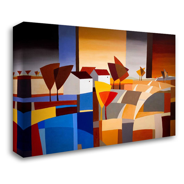Hamlet III 40x28 Gallery Wrapped Stretched Canvas Art by Paus, Hans