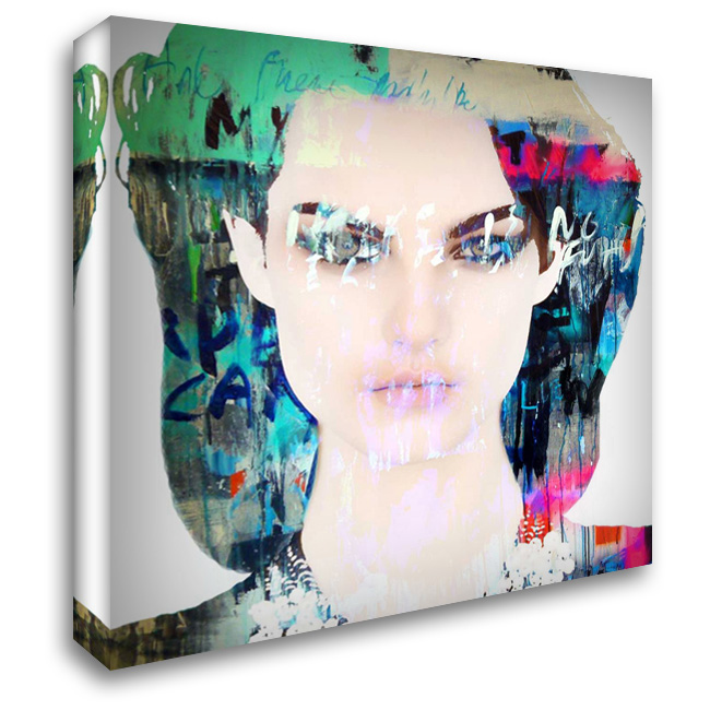 Dignity 28x28 Gallery Wrapped Stretched Canvas Art by Baker, Micha