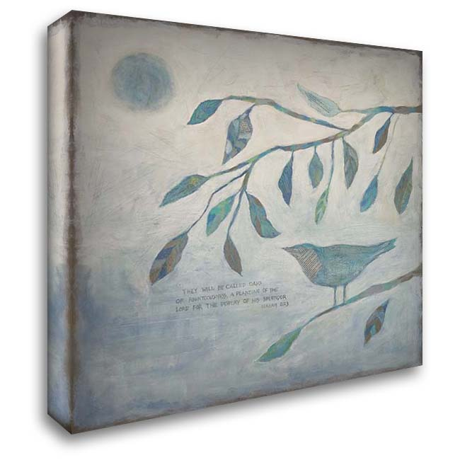 Display of His Splendor 28x28 Gallery Wrapped Stretched Canvas Art by Bagnato, Judi
