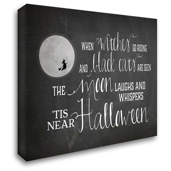 Halloween 34x28 Gallery Wrapped Stretched Canvas Art by Cummings, Amy