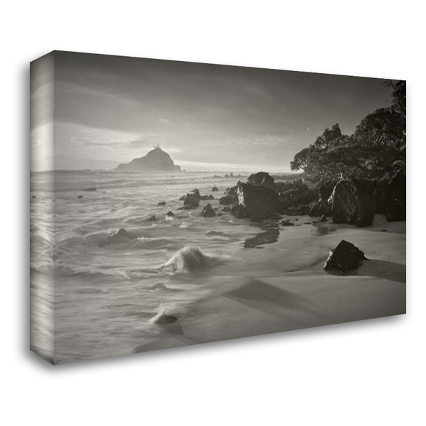 Hana Beach Hawaii 40x28 Gallery Wrapped Stretched Canvas Art by Frates, Dennis
