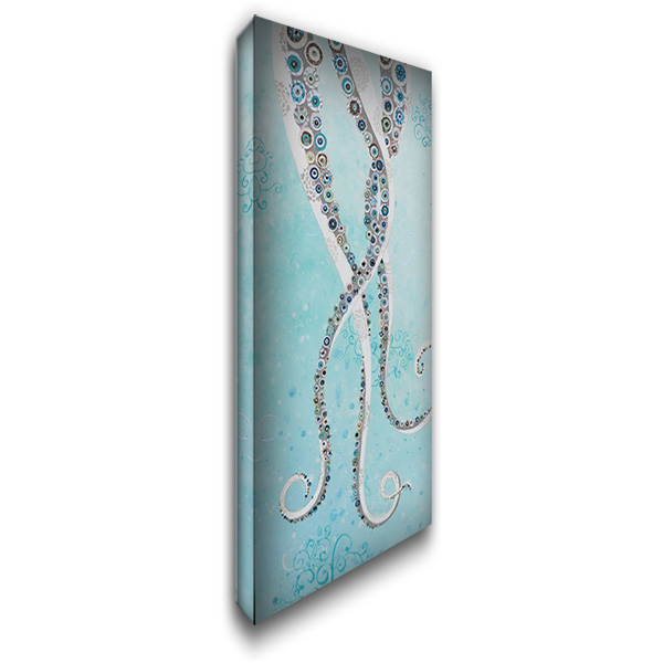 Happy Feet 22x40 Gallery Wrapped Stretched Canvas Art by Peck, Jennifer