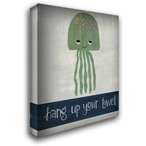Hang Up Your Towel 28x36 Gallery Wrapped Stretched Canvas Art by Doucette, Katie