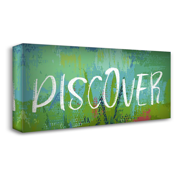 Discover 40x22 Gallery Wrapped Stretched Canvas Art by Wingard, Pamela J.