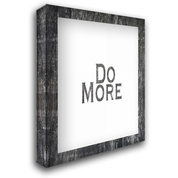 Do More 28x36 Gallery Wrapped Stretched Canvas Art by Moss, Tara