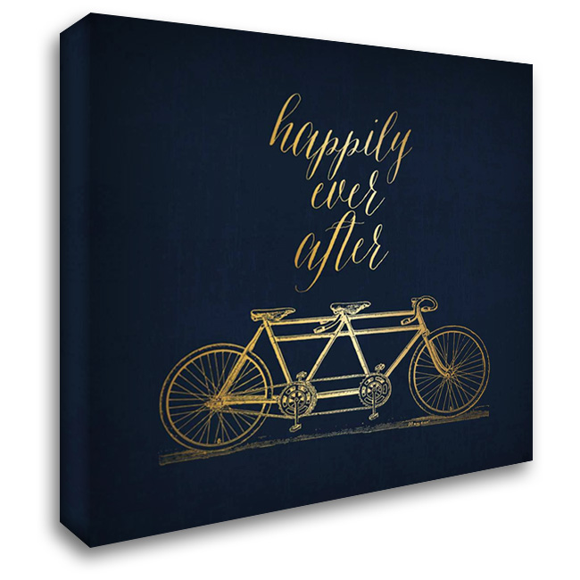 Happily Ever After 28x28 Gallery Wrapped Stretched Canvas Art by Apple, Tammy