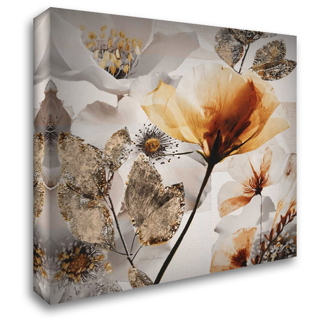 Happy Days 28x30 Gallery Wrapped Stretched Canvas Art by Theodosiou, Matina