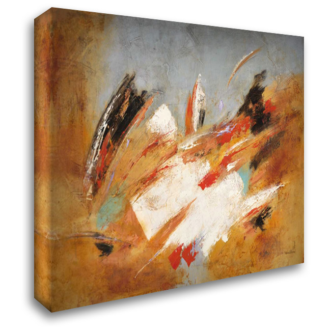 Directions 1 36x28 Gallery Wrapped Stretched Canvas Art by Villarreal Villarreal, Gabriela